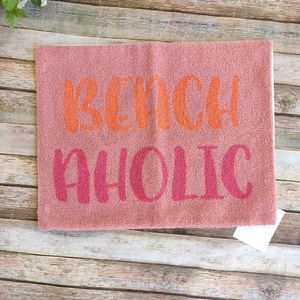 Levtex Accents - Beachaholic Pillow Cover and Placemat Pink Orange